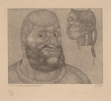 Perseus (Der Witz hat uber das Leid gesiegt) [Perseus-The Triumph of Brain over Body]
