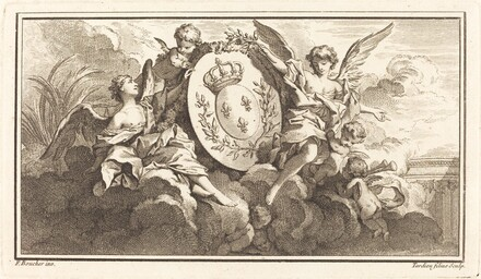 Royal Coat of Arms of Louis XV