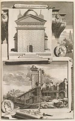 Beschryuing van Oud en Niew Rome Verdeelt in Drie Deelen: In't Fransch beschreven door den heere Francois Desseine