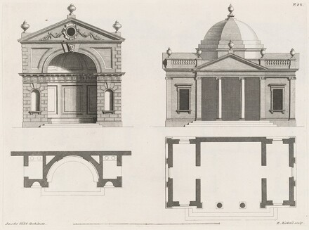 A Book of Architecture containing Designs for Buildings and Ornaments