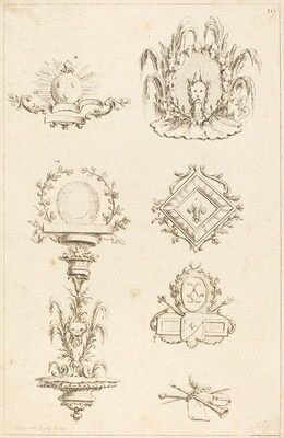 Designs for Tail-Pieces: pl. 10
