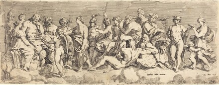 The Admission of Psyche to Olympia