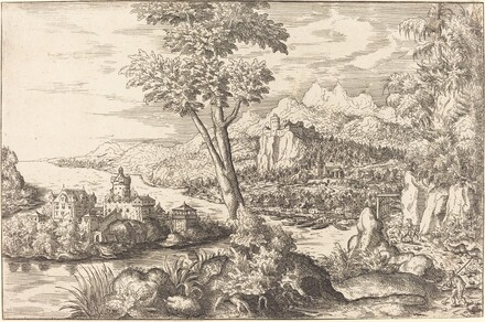 Landscape with Three Men