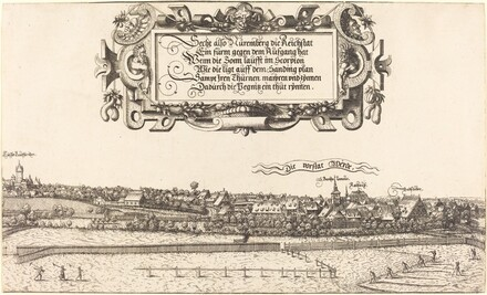 View of Nuremberg from the East [right section]