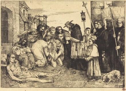Plague Victims of Rome (Les pestiferes de Rome)
