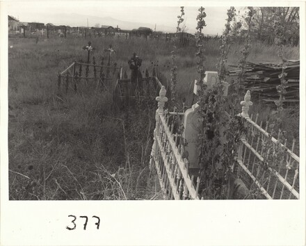Graveyard before village--Santa Fe, New Mexico