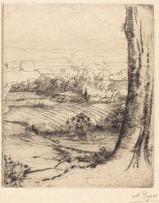 View of Reeds (Coin de roseau)