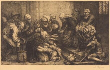 Beggars of Brussels (Les mendiants de Bruges)