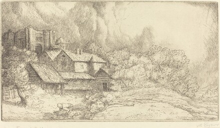 Farm at the Monastery (La ferme de l'abbaye)
