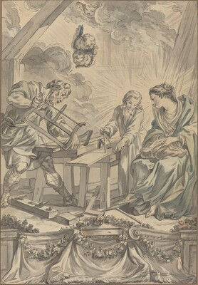 The Holy Family in the Carpenter's Shop