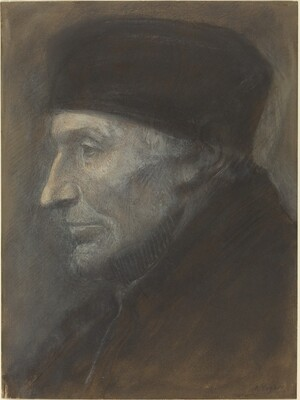 Head of a Man with a Skullcap