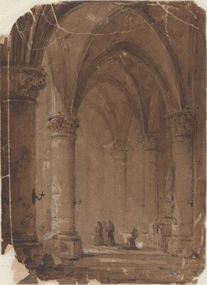 Monks in a Cathedral