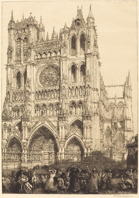 Amiens Cathedral (Cathedrale d'Amiens - Jour d'inventaire)