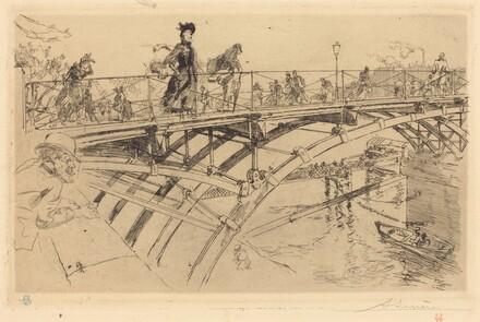 Bridge of Arts (Le pont des Arts)