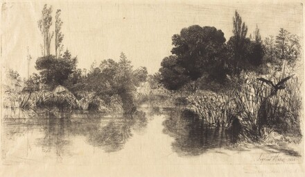 Shere Mill Pond (The Larger Plate)