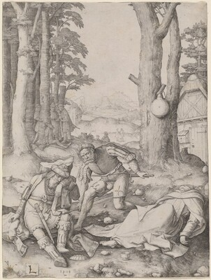 Mahomet and the Monk Sergius