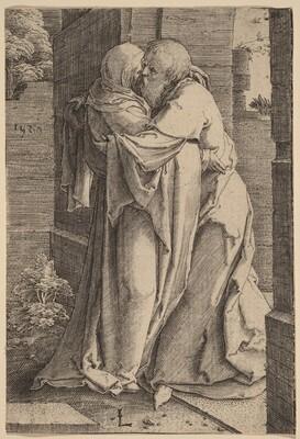 Saint Joachim Embracing Saint Anna