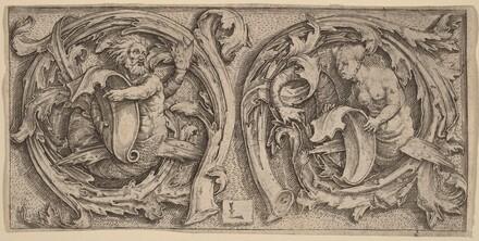 Triton and Siren in Tendrils