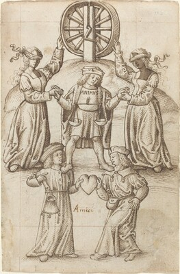 Friendship Is Equality; A Friend Is Another Self [fol. 10 recto]