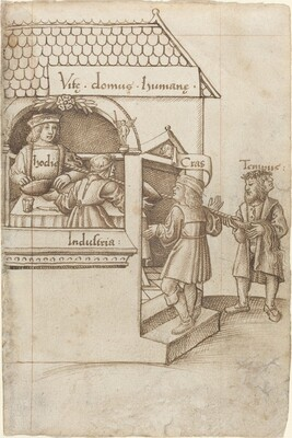 Do Not Sit on the Grain Measure [fol. 12 recto]