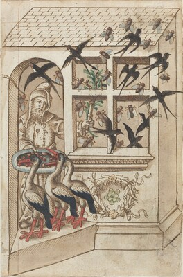 Do Not Have Swallows under the Same Roof [fol. 40 recto]