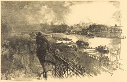 The Seine near the Austerlitz Bridge