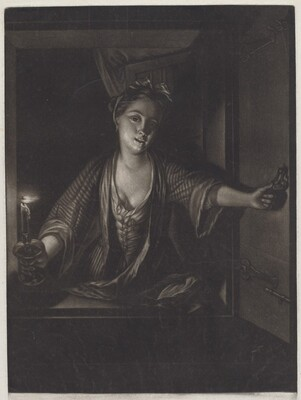 Girl with a Candle