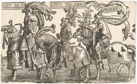 Joshua, David, Judas Maccabees