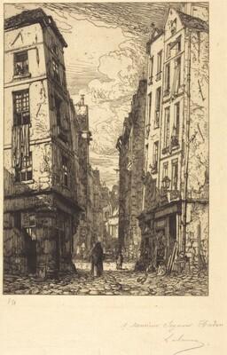 Rue des Marmousets (Quartier de la cite, vieux Paris)