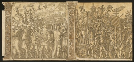 The Triumph of Julius Caesar [no.1 and 2 plus 2 columns]