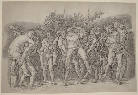 Bacchanal with Silenus