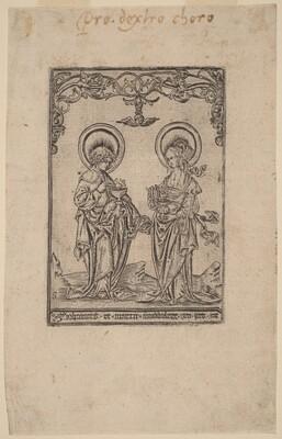 Saint Mary Magdalene and Saint John the Evangelist