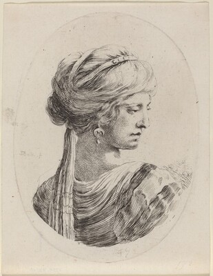 Sultaness in a Veiled Turban, Seen from Behind