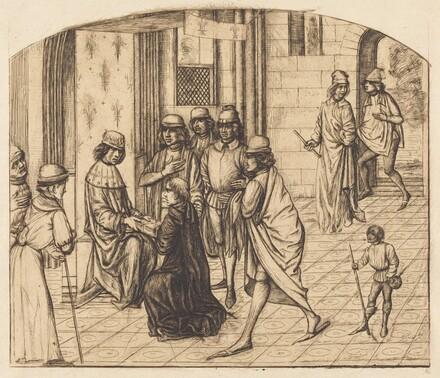Présentation du Valère Maxime au Rois Louis XI (The Printer Valerius Maximus Being Presented to King Louis XI)
