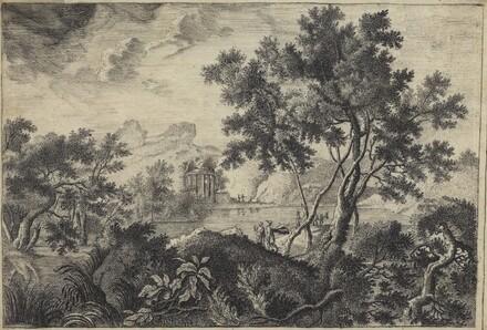 Classical Landscape with a Tempietto