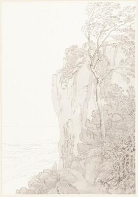 Sheer Cliffs above a Coastal Road