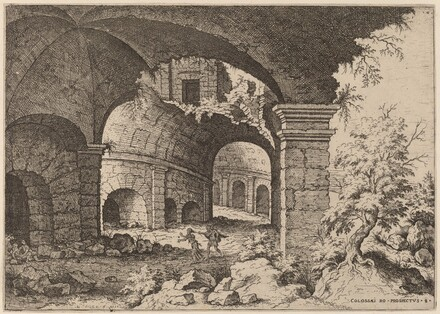 Eighth View of the Colosseum