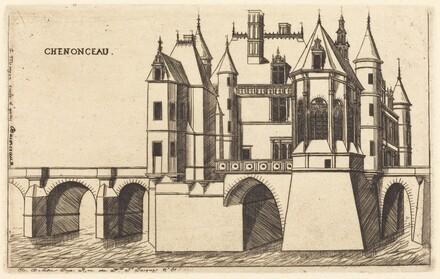 Chateau de Chenonceau, 2e planche (The Chateau of Chenonceau, 2nd plate)