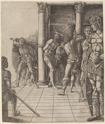 Flagellation of Christ, with the Pavement