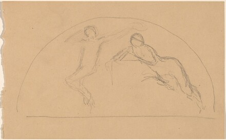 Study of Figures in a Lunette