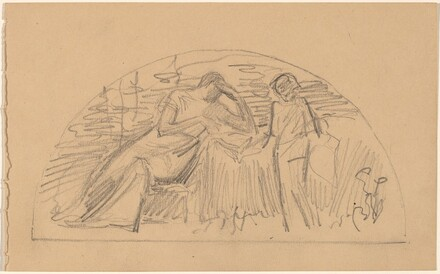 Study for a Lunette