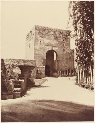 Grenade, Alhambra, Porte d'Entree de la Forteresse