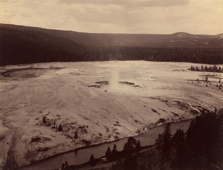 Hell's Half Acre, Firehole River
