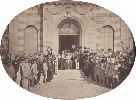 Asile Impérial de Vincennes: le 15 Août, le Salut à l'Empereur
