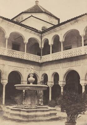 Espagne. Seville, Cour de la Maison Du Duc De Medina Celi dite Maison de Pilate