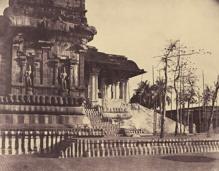 Tanjore: Great Pagoda, Entrance Looking Outwards