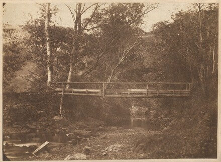Landscape with Trees and Bridge