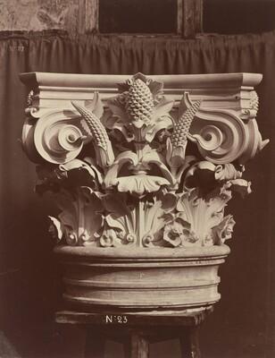 Ornamental Sculpture from the Paris Opera House (Column Fragment)
