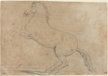An Antique Sculpture of a Horse