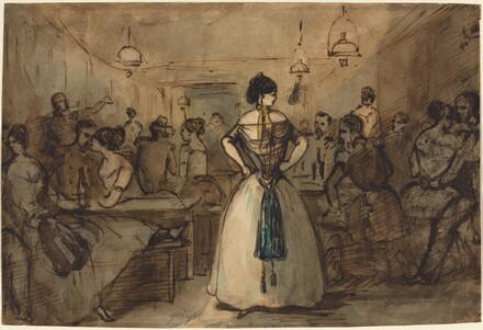 Officers and Courtesans in an Interior